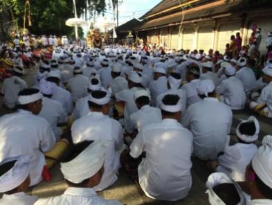 Cerimonia di preparazione prima del Nyepi 3