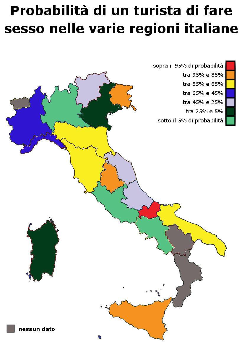 sesso e regioni