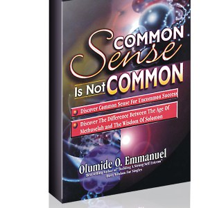 Common Sense Is Not Common