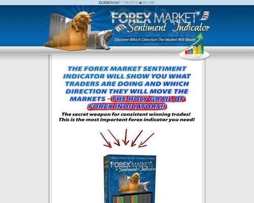 Forex Sentiment Indicator | Forex Trading Volumes & Positions MetaTrader 4 Sentiment Indicator