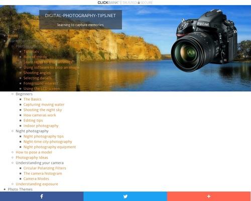 Complete Digital SLR Guide for better photos