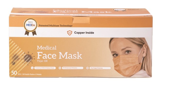 Copper-Inside Medical Mask