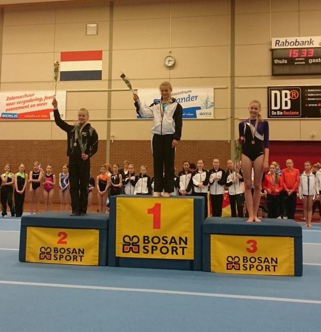 Isabelle Thuijs wint goud!