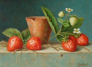 aardbeien paneelmaat 13 x 18