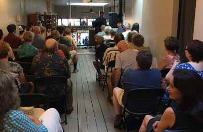 Browsers Bookshop hosted a reading of The Eagle Tree by Ned Hayes.