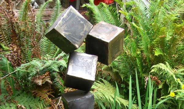 """""""The Weight,"""" sculpture by Grey Brogdon"""