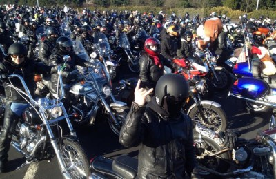 Olympia Toy Run, photo by Jimmi Davies