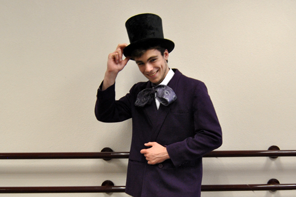 Jeff Hines-Mohrman as Willy Wonka