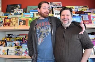 Casey Bruce and Frank Hussey of Danger Room
