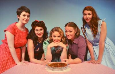 Dana Winter, Heather Christopher, Meghan Goodman, Samantha Chandler and Katelyn Hoffman in 5 Lesbians Eating a Quiche