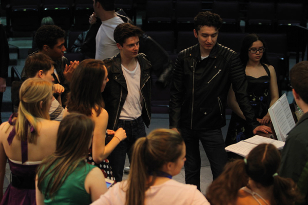 Grease at Capital High School