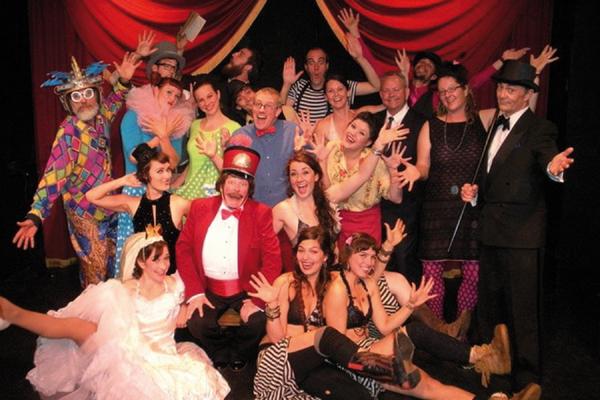 Lord Franzannian Royal Olympian Spectacular Vaudeville Show