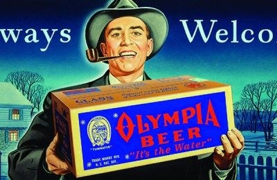 "Olympia Beer advertisement: ""Always Welcome"""