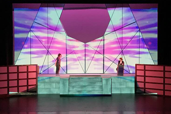 Jesse Morrow and Nicholas Main play Harper and Prior in SPSCC's Angels in America.