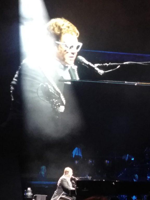 Elton John at Tacoma Dome, 2019