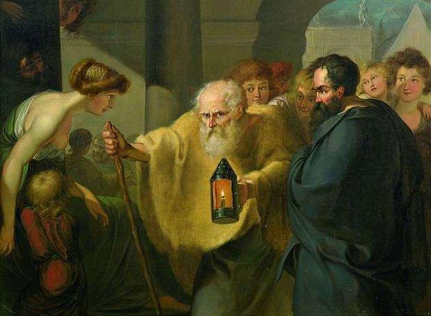 ΙΣΤΟΡΙΚΟ ΑΝΕΚΔΟΤΟ Ο Διογένης και το κρασί