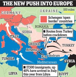 After crackdown in Turkey, migrants make the perilous trip from Libya to Italy