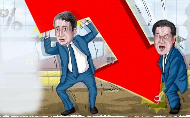 Αργα, αλλα με πτωτική τάση Ανεργία-Λουκέτα, ανοδικά το πρωτογενές πλεονασμα