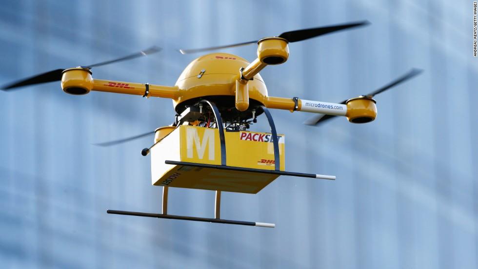 Ιστορική πρώτη διανομή με drone στις ΗΠΑ