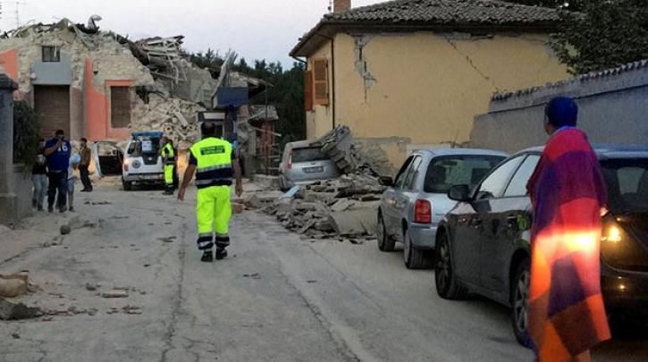 Σεισμός-Τρόμος στην Ιταλία 37 νεκροί 150 τραυματίες Νεα Ενημέρωση