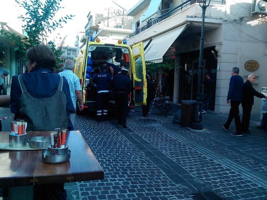 Χανιά: Πυροβόλησε τη γυναίκα του στη μέση του δρόμου – Πανικός και αίμα μπροστά από καταστήματα (φωτό)