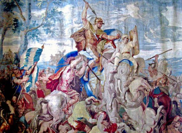 Η Μάχη στα Γαυγάμηλα και ο θάνατος του Βουκεφάλα