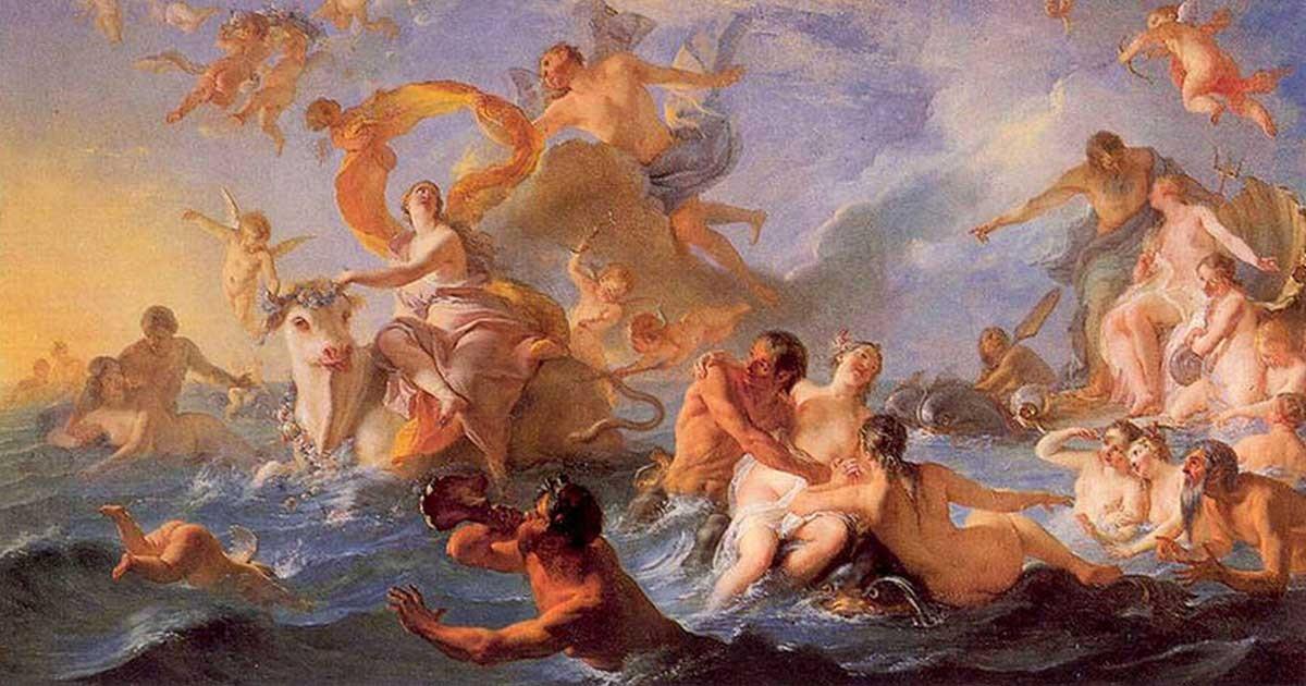 Ελληνική Μυθολογία Ο μύθος του Δία και της Ευρώπης