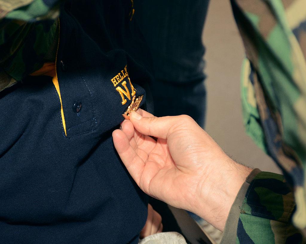 """Ο πιο μικρός Ο.Υ.Κ. του Πολεμικού Ναυτικού """"Make-A-Wish"""""""