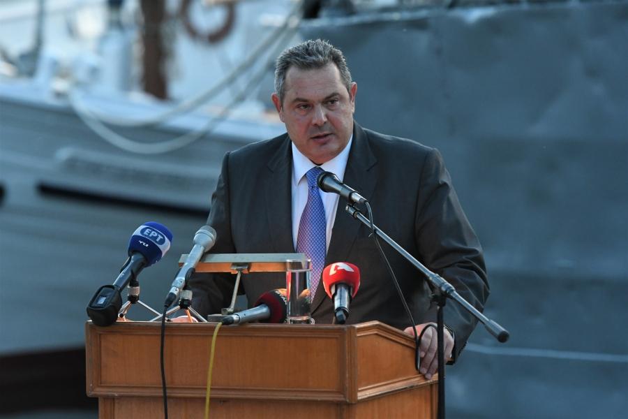 Ομιλία ΥΕΘΑ Πάνου Καμμένου στην εκδήλωση μνήμης και τιμής για το Αντιτορπιλικό «Βέλος» και το Κίνημα του Ναυτικού
