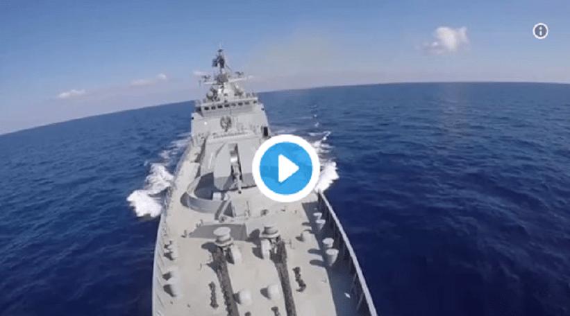 Οι Ρώσσοι χτυπούν το ISIS με Πυραύλους Cruise κι η Ρωσική Πρεσβεία στην Ελλάδα ανέβασε το Βίντεο!