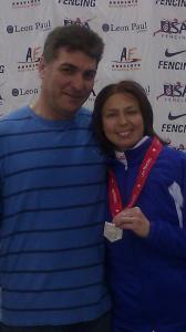 Silver Medalist Natalia Stavisky