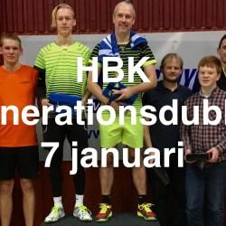 Kom och se HBK s årliga Generationsdubbel i badminton den 7 januari cd4f5cbefb6d1