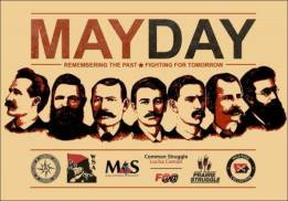 May day 2017 Olympia