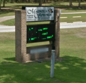 Magnolia Springs Church