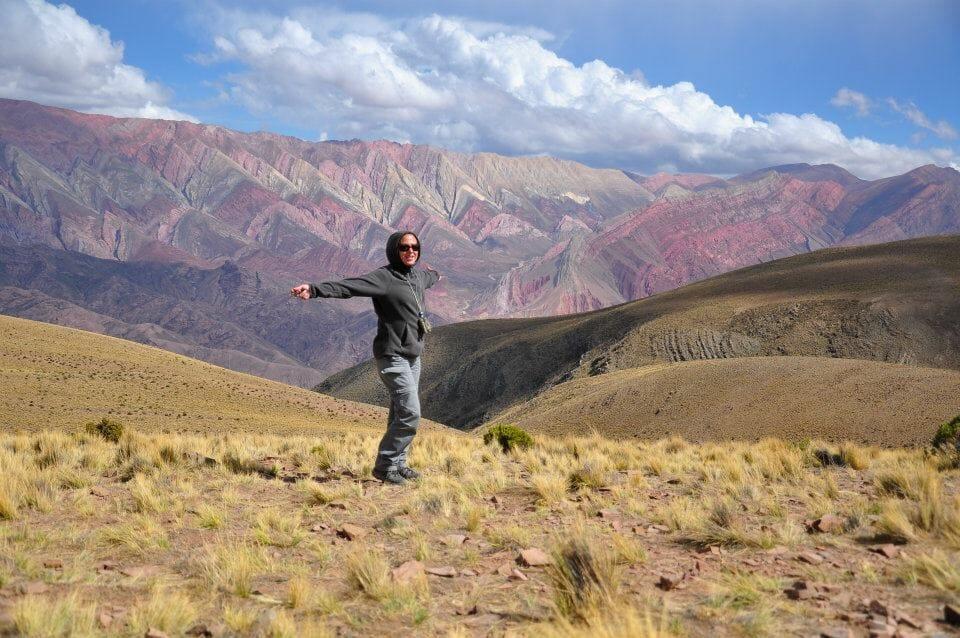 Humahuaca, Cerro Hornocal, Argentine