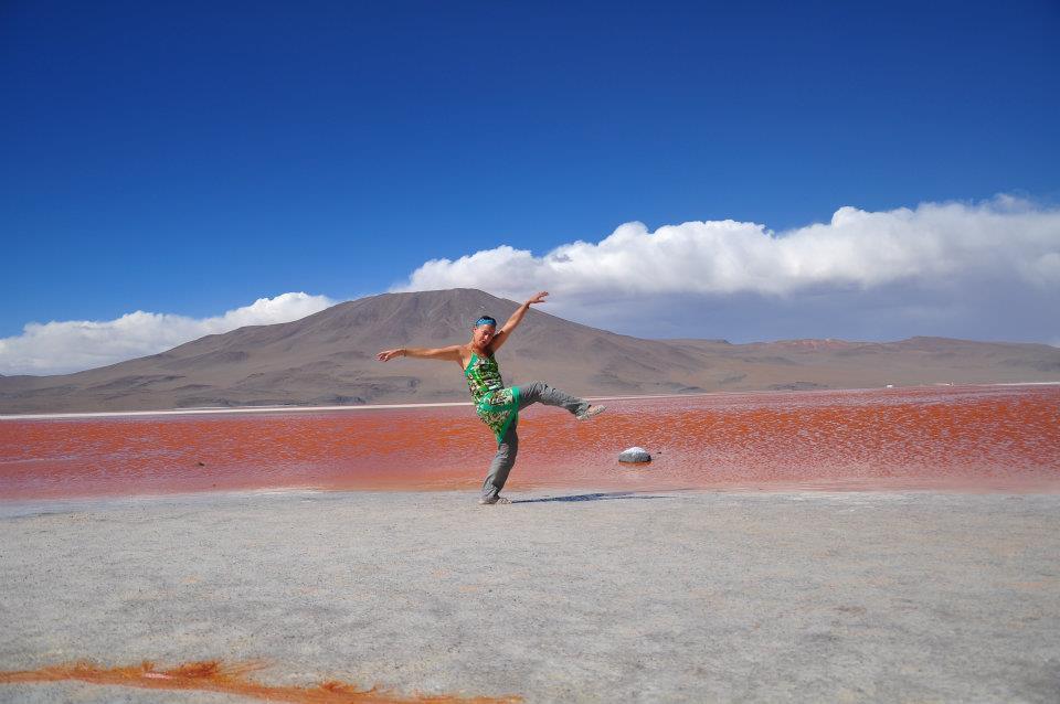 Bolivie, Sud Lipez, Uyuni, désert de Sel laguna colorada y Verde