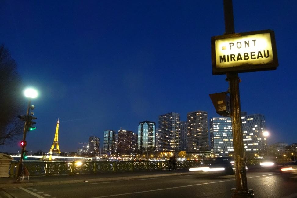pont mirabeau paris blog voyages