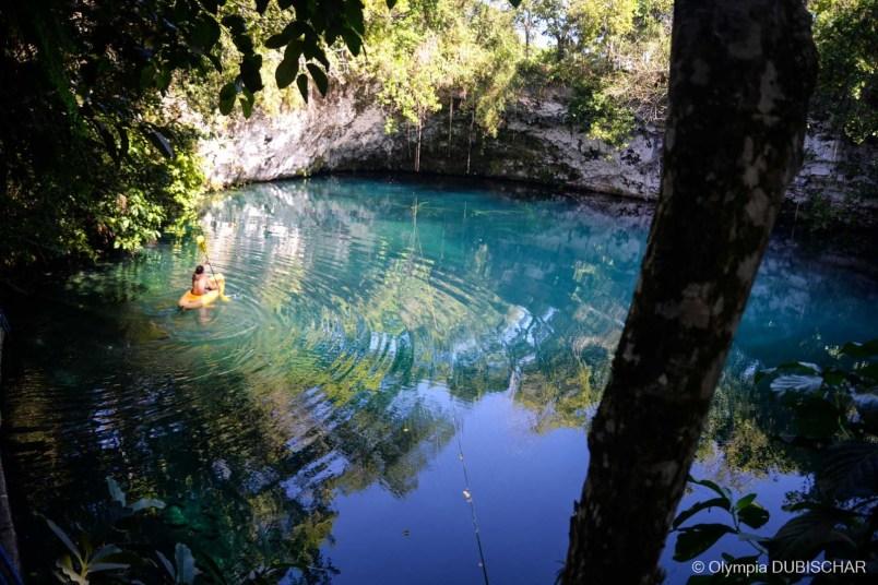 La Laguna Dudú dominicaine excursions lac cascade nature