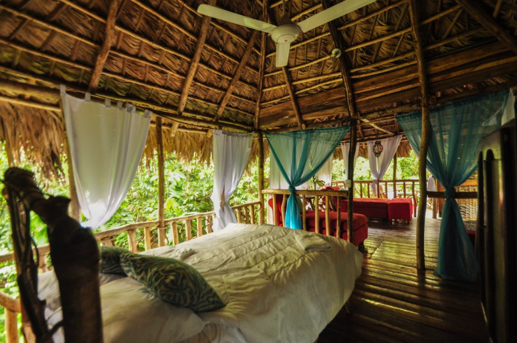 eco lodge samana dominicaine écotourismee