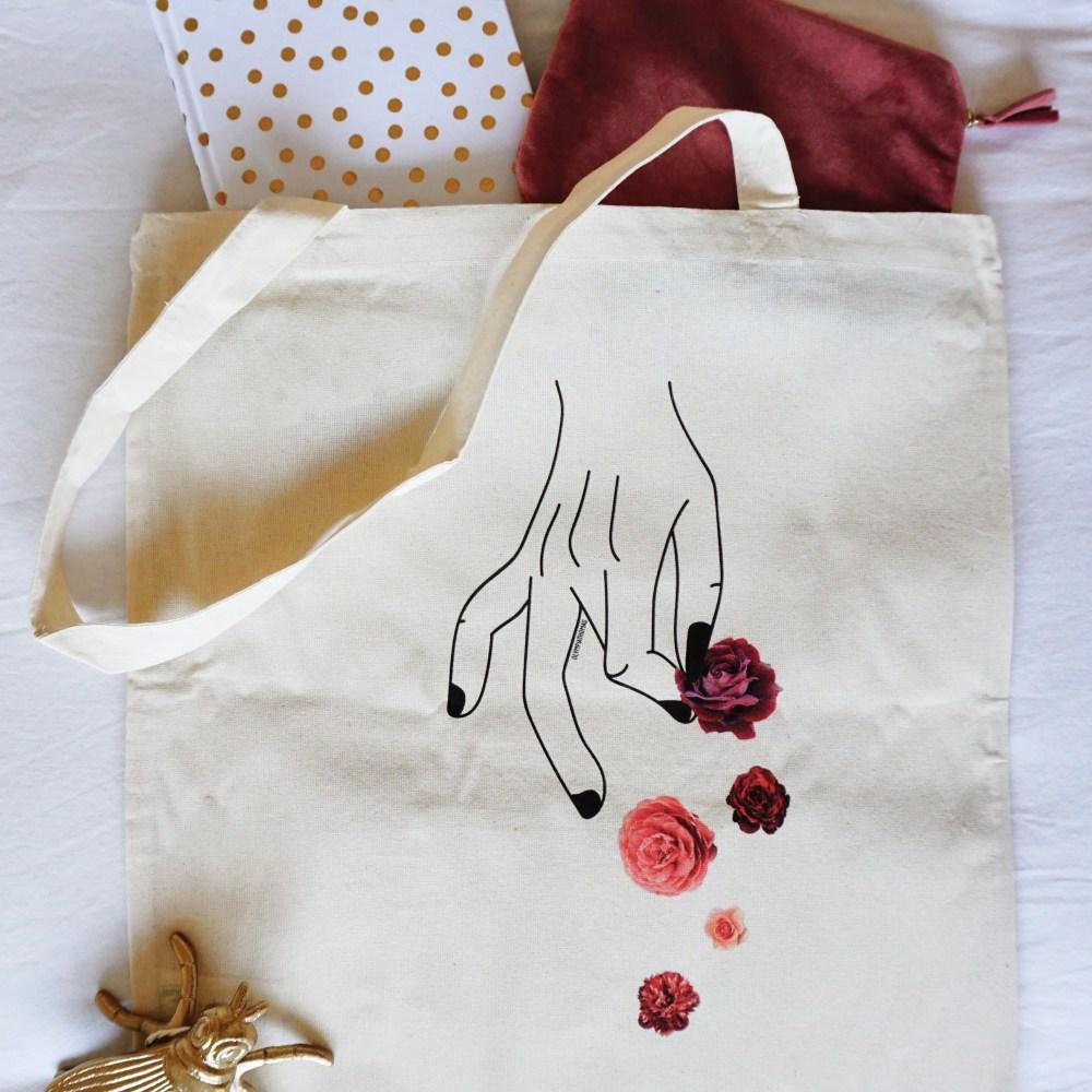 Tote bag – Pincée de fleurs