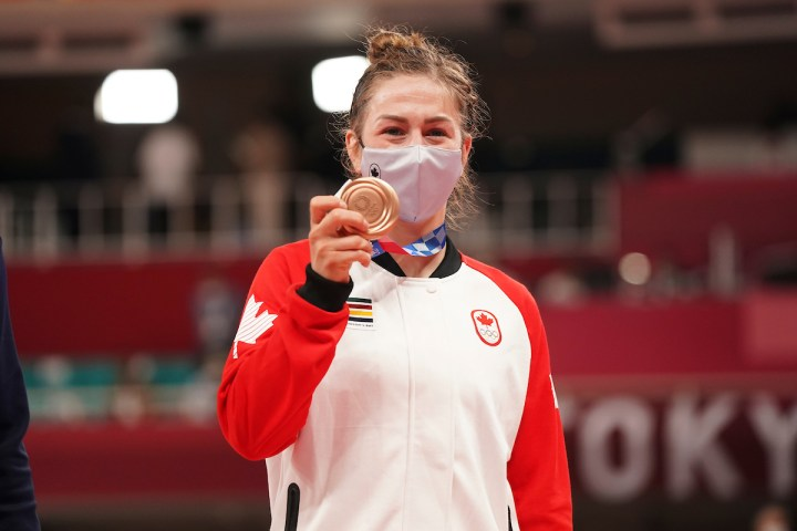 Beauchemin-Pinard's step up to 63kg has her stepping onto Tokyo 2020 podium  - Team Canada - Official Olympic Team Website