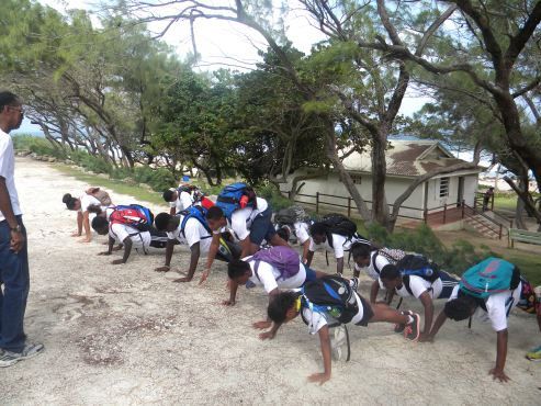 National Olympic Academy hosted an Olympic Youth Camp at the Barbados Workers Union Labour College at Mangrove, St. Philip from 14 December - 24 December 2015.