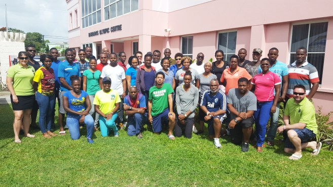NCCP Level 2 clinic took place at the Barbados Olympic Association