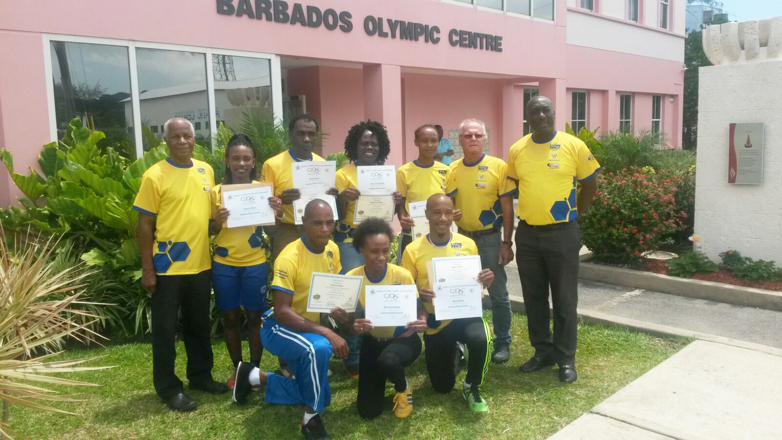 """The World Road Tennis Association completed a """"Train the Trainer"""" program in Barbados to assist in growing the sport throughout the Caribbean"""