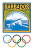 Barbados Olympic Association Logo