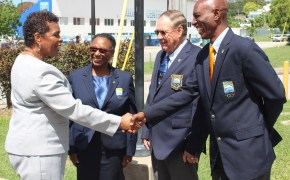 Governor General Dame Sandra Mason Pays a Courtesy Call to the BOA