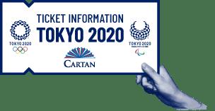 Cartan Official Tokyo 2020 Tickets