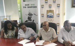 Barbados Olympic Association Inc. and the Caribbean Regional Anti-Doping Organization Inc. sign MOU