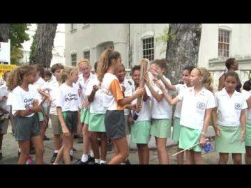 The Queen's Baton visits Barbados