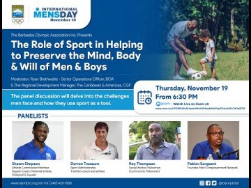 The Role of Sport in Helping to Preserve the Mind, Body & Will of Men & Boys